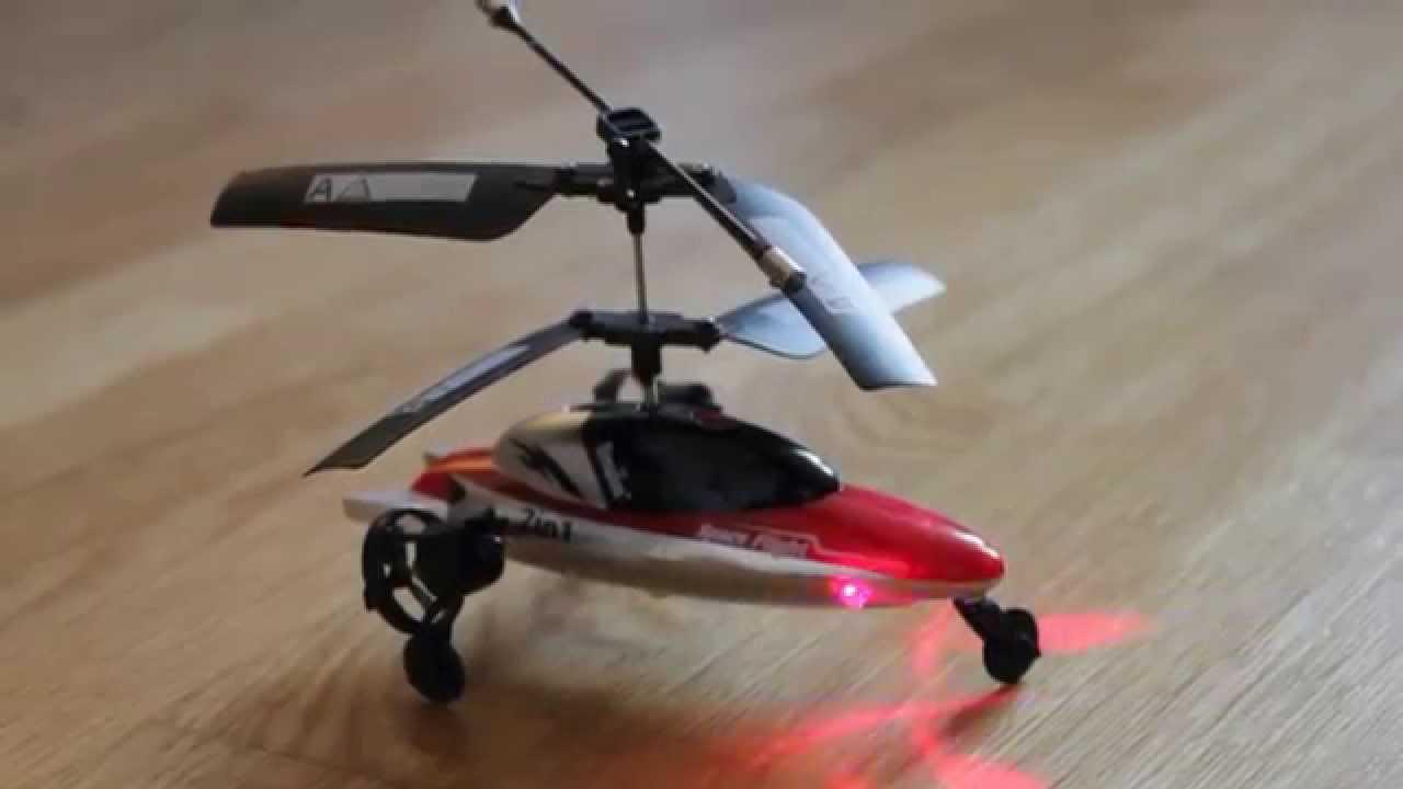 Helikopter mit Seiten-Turbinen