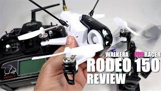 WALKERA RODEO 150 FPV Race Drone Review - Part 1 - [UnBox, Inspection & Setup]