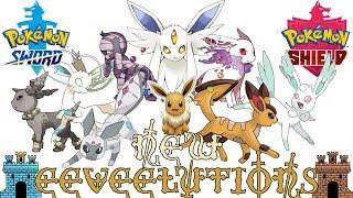 New Eeveelutions for Pokémon Sword & Shield