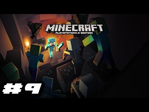 Minecraft PS4 2019 Gameplay - MONSTER COMING FROM ALL OVER