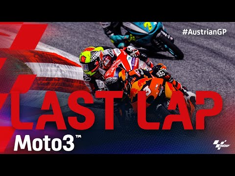 Moto3 2021 第11戦オーストリアGP 決勝レースのラストラップ動画