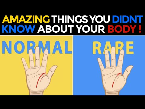 CRAZY FACTS ABOUT YOUR BODY!