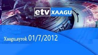 Xaagu,ayrok ...01/6/2012 |etv