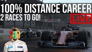 F1 2018 - 100% Distance Career Mode   Round 20: Interlagos