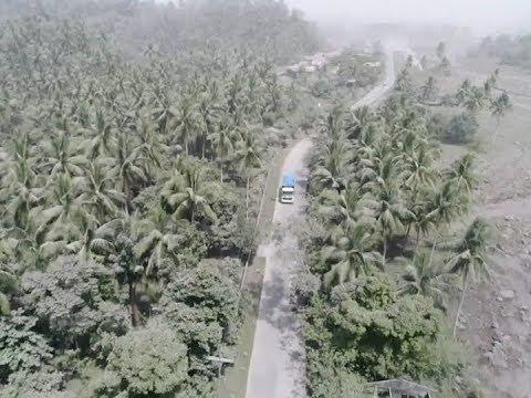 PHIVOLCS, nagbabala sa panganib ng lahar flow sa paligid ng Mayon kapag umulan