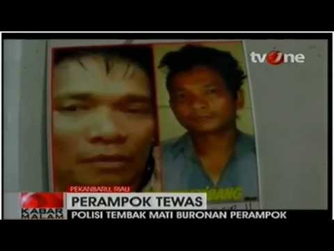 Perampok Sadis Edi Palembang Didor. I BERITA TERKINI