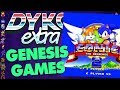 SEGA Genesis Games Facts - Did You Know Gaming? extra Feat. Dazz (SEGA Mega Drive)