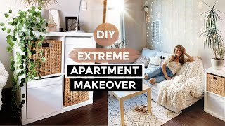 DIY LIVING ROOM & BEDROOM Transformation! Ikea and Amazon Home Decor Ideas