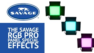 Explore Special Effect Options with the All-New Savage RGB Pro Panel