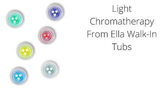Light Chromatherapy Walk-In Tub Video