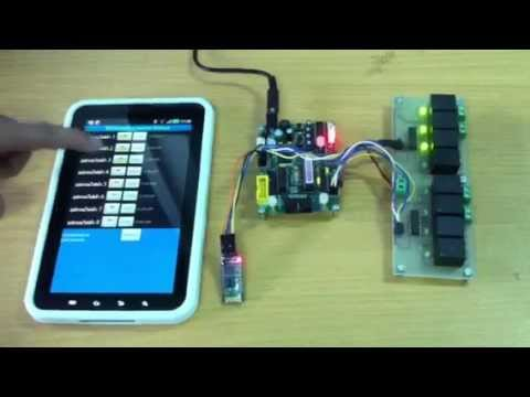 Video of Arduino Bluetooth Control