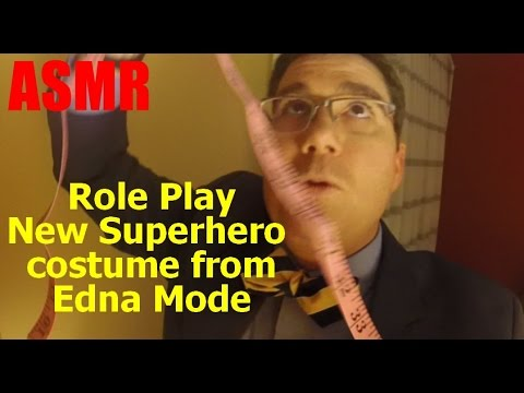 ASMR Role play Edna Mode fitting you for superhero costume