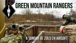 Green Mountain Rangers :  Zulu 24 Airsoft Sunday