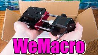 WeMacro Electronic Focusing Rail Slider Unboxing