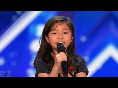 America's Got Talent 2017 Celine Tam Just the Intro & Comments S12E04 1