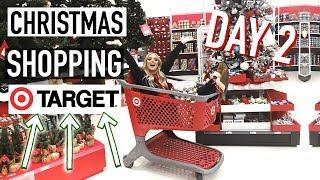 CHRISTMAS SHOPPING AT TARGET + WORKOUT ROUTINE | VLOGMAS DAY 2!
