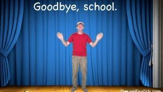 Goodbye, School Song For Kids