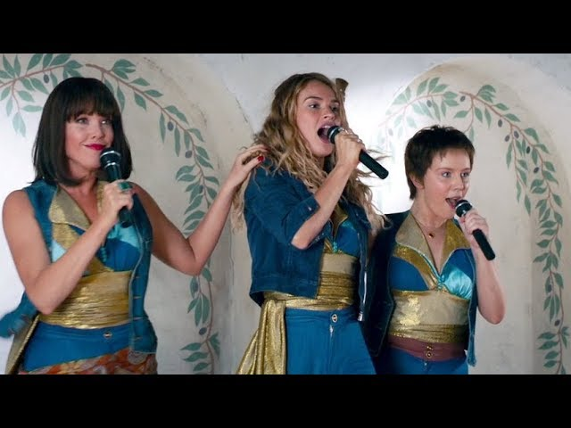 Lily-james-sings-mamma-mia