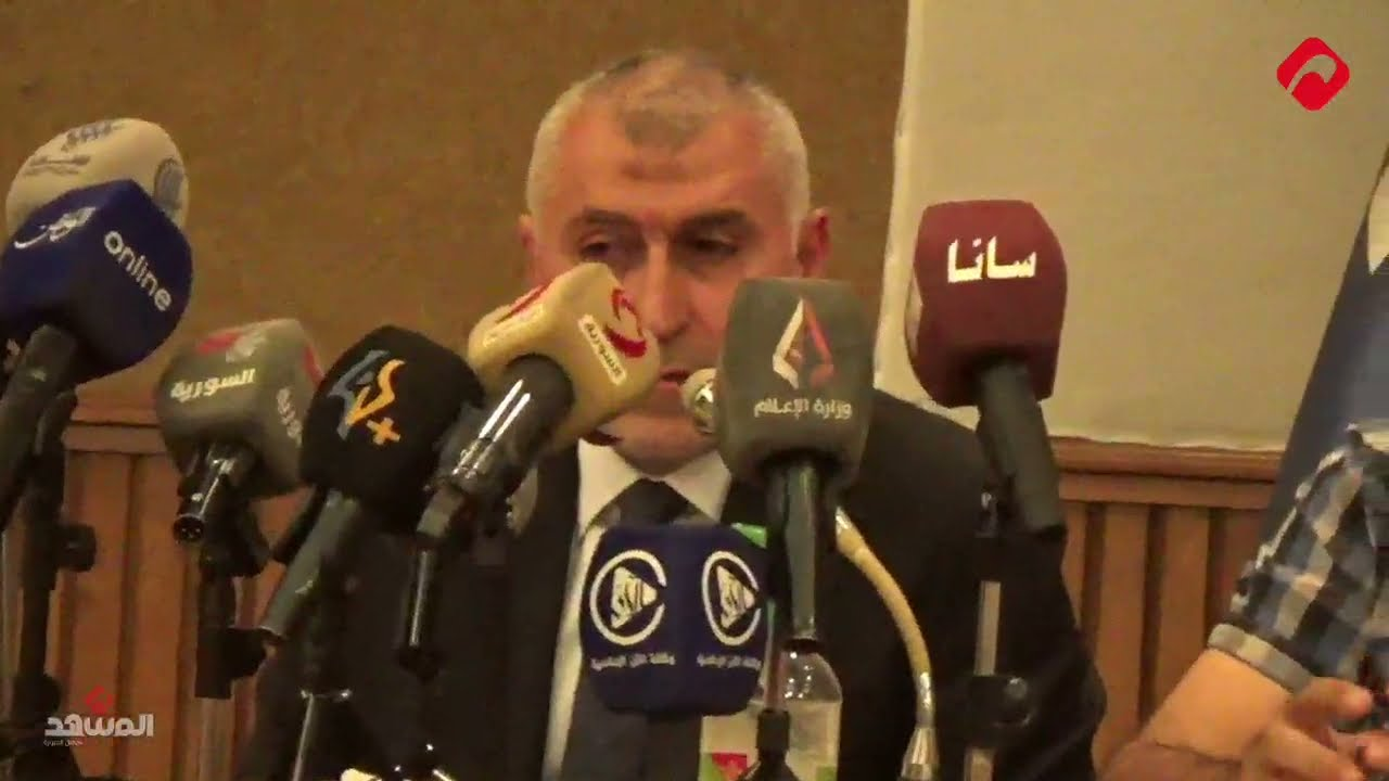مدرب منتخبنا الوطني نزار محروس في مؤتمره الصحفي: مهمتنا صعبة لكنها ممتعة