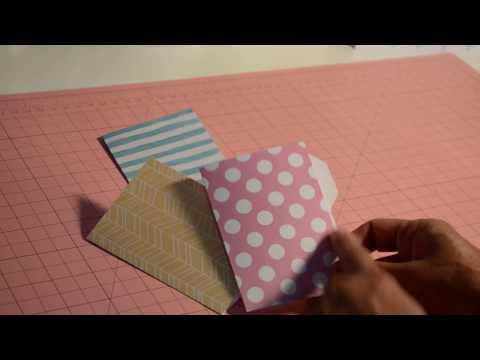 Mini File Folder Envelope Punch Board *TUTORIAL*