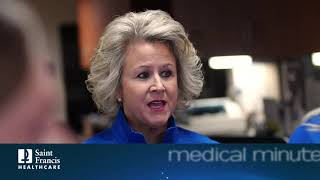 Medical Minute: Cancer Services Offered at Saint Francis with Lisa Newcomer