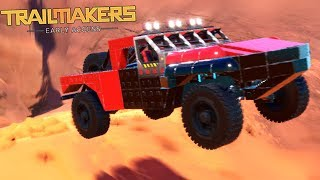 I Built a Trophy Truck So I Could Crash It!- Trailmakers Early Access Gameplay