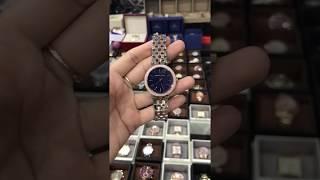 bb3a2481df1f MICHAEL KORS Mini Darci Blue Mother Of Pearl Dial Ladies Watch MK3651
