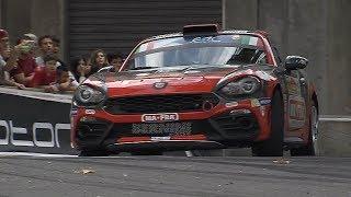 Abarth 124 Rally al Rally di Roma Capitale 2017