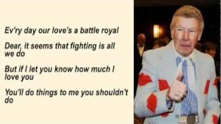 Ernest Ashworth - Talk Back Trembling Lips with Lyrics