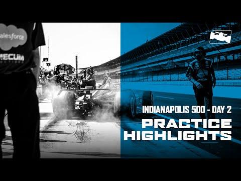2020 インディ500 練習走行2日目のハイライト動画