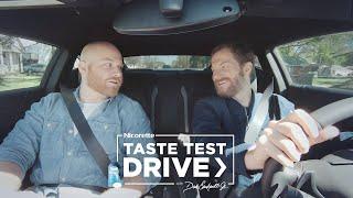 Coated Ice Mint Lozenge Taste Test Drive with Dale Earnhardt Jr. | Nicorette