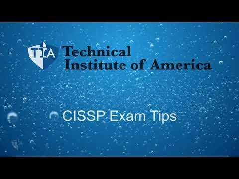 CISSP Exam Tips - YouTube