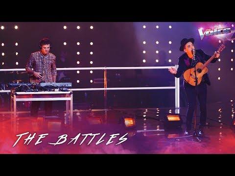 The Battles: Sam Perry v AP D'Antonio 'Sympathy For The Devil' | The Voice Australia 2018