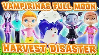 Disney Junior Vampirina Full Moon Harvest Disaster! Featuring Bridget, Poppy, Oxana & Boris!