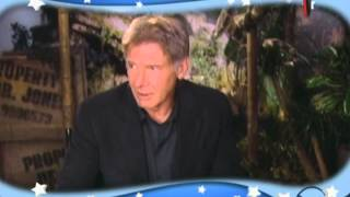 Harrison Ford & Shia LaBeouf on Indiana Jones and The Kingdom of The Crystal Skull