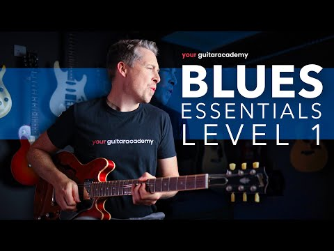 Essential Blues Guitar Lessons [1 of 27] Electric Blues For ...