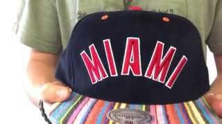 Heat 'NATIVE-STRIPE SNAPBACK' Black Hat by Mitchell & Ness