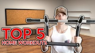 5 Best Iron Gym Workouts l Easy For Beginners or Intermediate