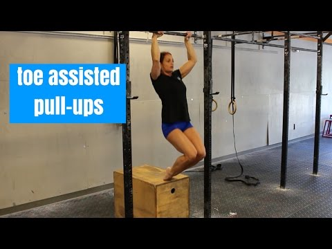 Toe Assisted Pullup