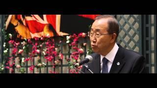 Tomorrowland 2015 | Ban Ki-moon joins the People of Tomorrow