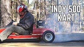 3X Horsepower & Massive Burnouts!! | Indy 500 Go Kart Engine Swap