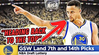 Why TWO Lottery Picks Can RESTORE The Golden State Warriors Dynasty