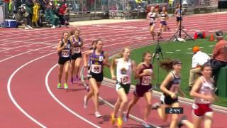 Girls A 1600 meter run