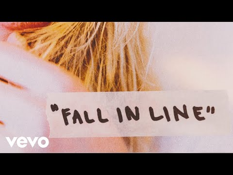 Fall in Line Lyric Video [Feat. Demi Lovato]