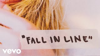 Christina Aguilera & Demi Lovato - Fall In Line (Lyrics)