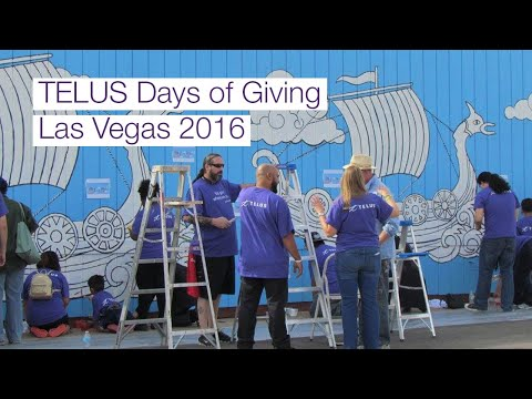 Image cover of video:  TELUS Days of Giving, Las Vegas, NV - 2016