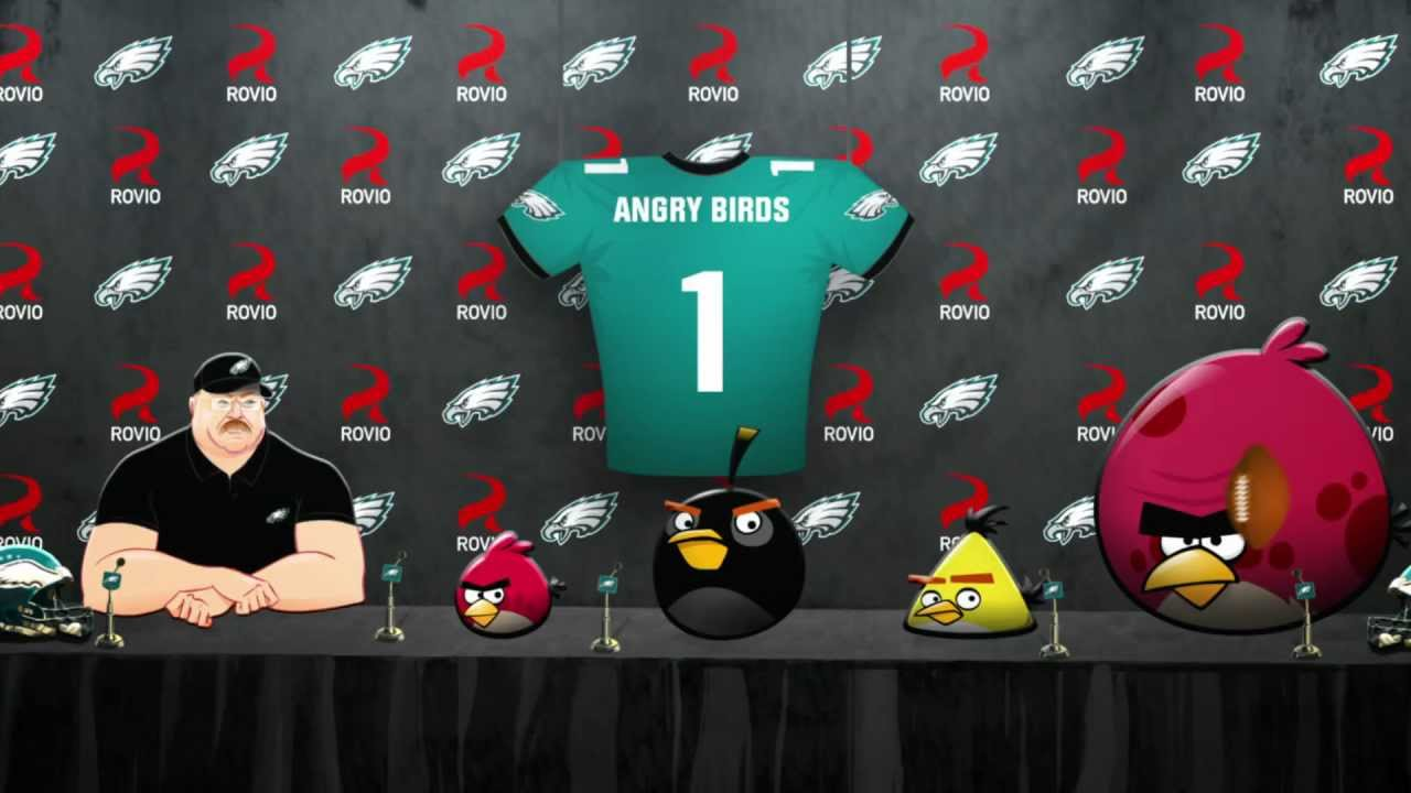 Angry Birds Partnering With Philadelphia Eagles To Give You Awful Cartoons