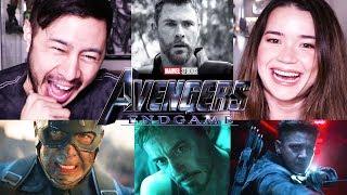 AVENGERS: ENDGAME | Official Trailer Reaction!