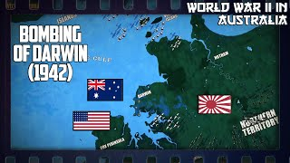 WW2 in Australia | Bombing Of Darwin (1942)