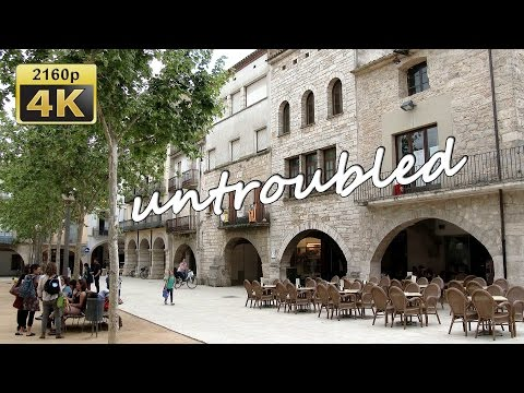 Banyoles, a guided Tour through the Old Town, Catalonia - Spain 4K Travel Channel